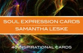 Soul Expression Cards